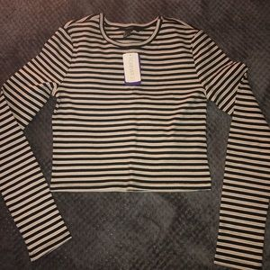 forever 21 NWT striped long sleeve